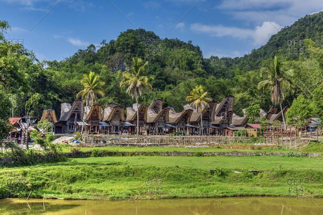 Traditional Toraja village, Rantepao, Tana Toraja, Sulawesi, Indonesia