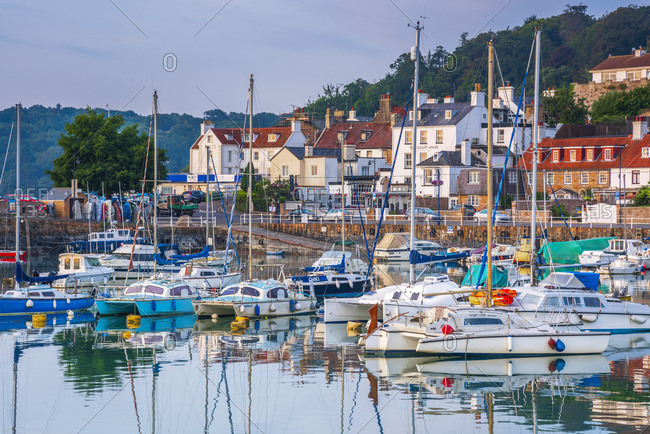 UK, Channel Islands, Jersey, St Aubin, St Aubin Harbour