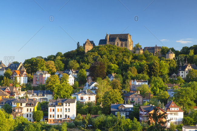 Landgrafenschloss, Marburg, Hesse, Germany