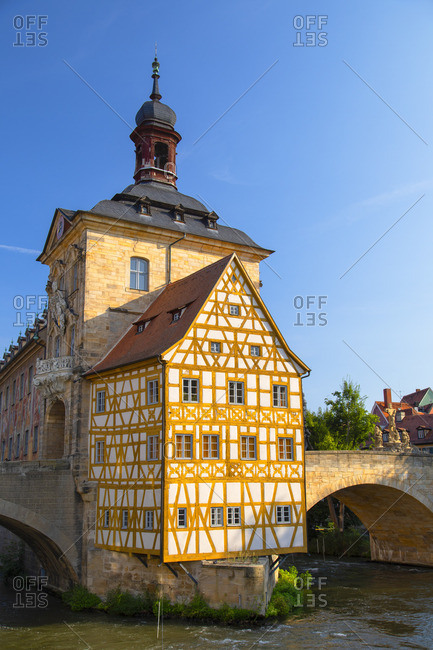 Altes Rathaus (Old Town Hall), Bamberg (UNESCO World Heritage Site), Bavaria, Germany
