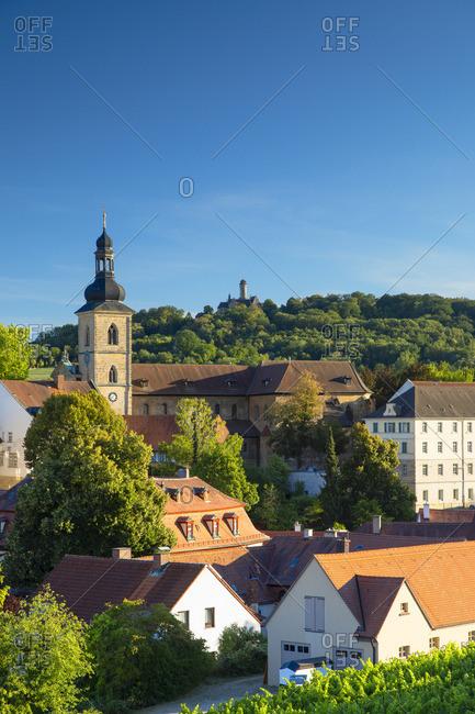 View of Bamberg (UNESCO World Heritage Site), Bavaria, Germany