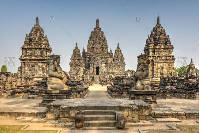 Candi Sewu, Prambanan temple complex, Yogyakarta, Java, Indonesia