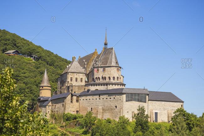 Luxembourg, Vianden, Vianden castle