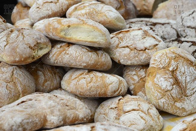 Corn bread, Moncao. Alto Minho, Portugal