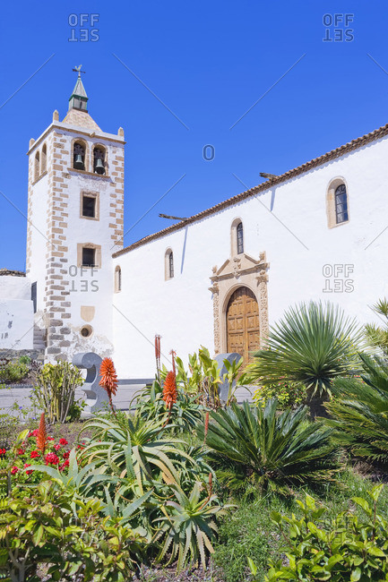 Santa Maria church, Betancuria, Fuerteventura, Canary Islands, Spain
