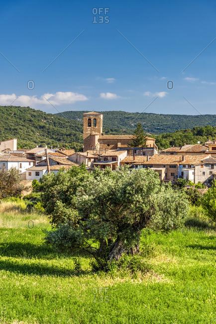 Colungo, Aragon, Spain