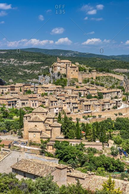 Alquezar, Aragon, Spain