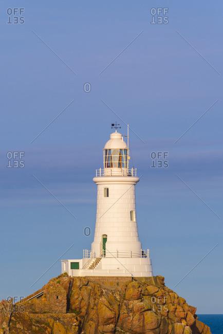 United Kingdom, Channel Islands, Jersey, Corbiere Lighthouse