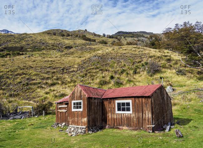 Finnish Hut, Los Glaciares National Park, Santa Cruz Province, Patagonia, Argentina