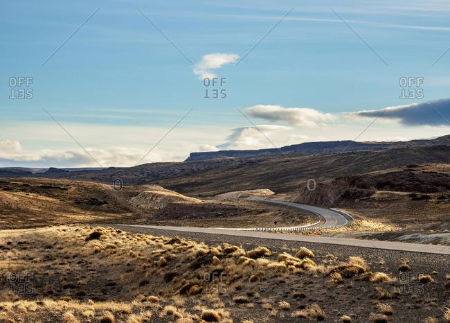 Ruta 40 near Perito Moreno Town, Santa Cruz Province, Patagonia, Argentina