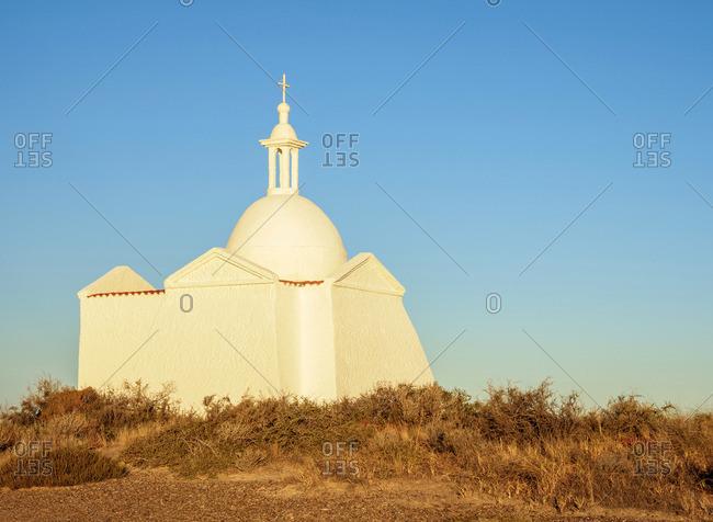 Fuerte San Jose Chapel, Valdes Peninsula, UNESCO World Heritage Site, Chubut Province, Patagonia, Argentina