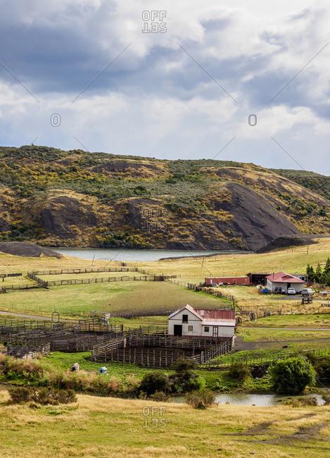 Estancia Puerto Consuelo, Puerto Natales, Ultima Esperanza Province, Patagonia, Chile