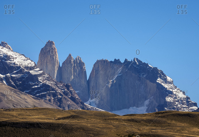 Towers of Paine, Torres del Paine National Park, Patagonia, Chile