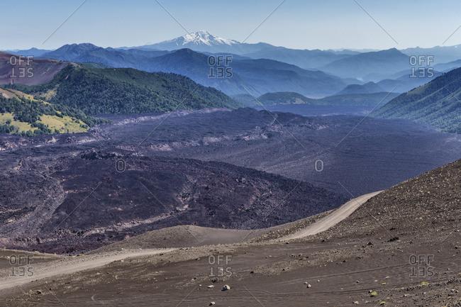 Tolhuaca volcano, Reserva Nacional Malalcahuello-Nalcas, Araucania region, Chile