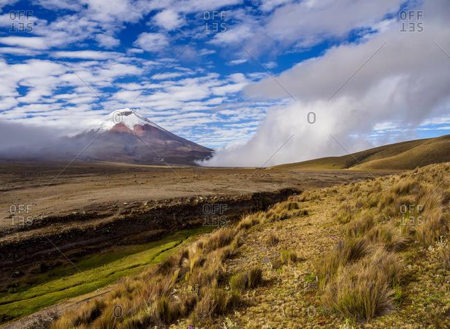 Cotopaxi Volcano, Cotopaxi National Park, Cotopaxi Province, Ecuador