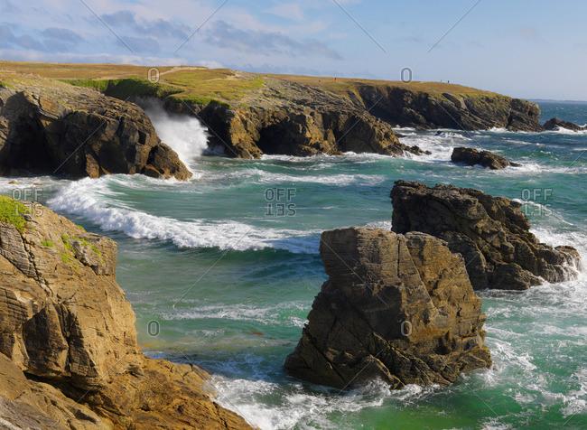 France, Brittany, Morbihan, Quiberon Peninsula, Port Bara