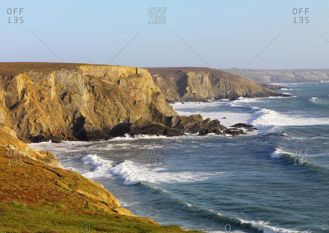 France, Finistere, Armorica Regional Natural Park, Crozon peninsula, Camaret-sur-Mer, Lostmarc'h beach