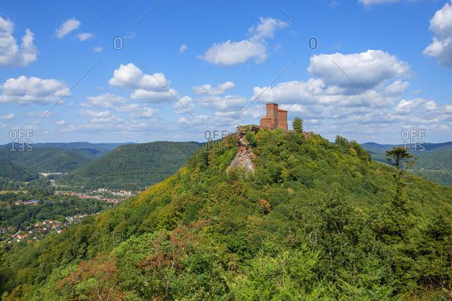 Trifels castle, Annweiler, Wasgau, Palatinate Forest, Rhineland-Palatinate, Germany