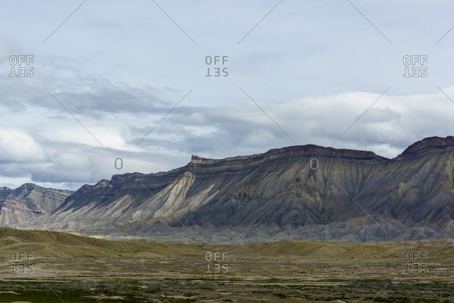 Barren mountain landscape, Colorado, USA