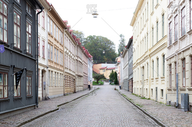 Street in Gothenburg, Sweden