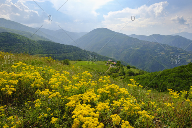 Albania- Shkoder- Drin Valley- Mountains