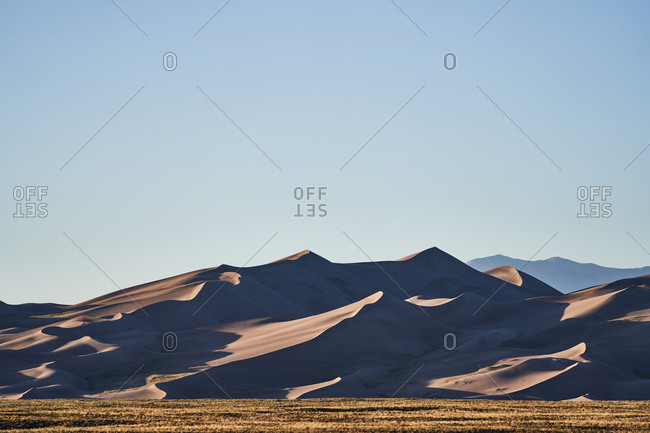 Sand dunes at Great Sand Dunes National Park and Preserve, Colorado