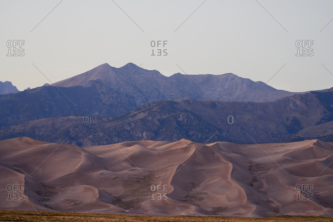 Dunes at the Great Sand Dunes National Park, Colorado
