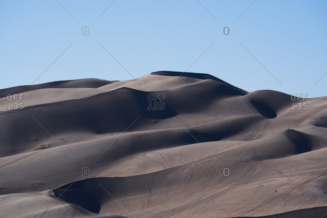 Sand dunes at Great Sand Dunes National Park, Colorado