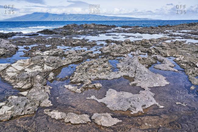 Tide pools of Maui, Hawaii