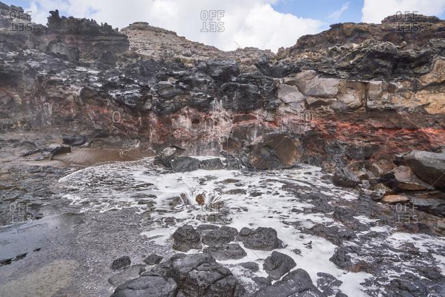 Nakalele Blowhole in Maui, Hawaii