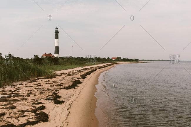 Fire Island Lighthouse, New York seashore