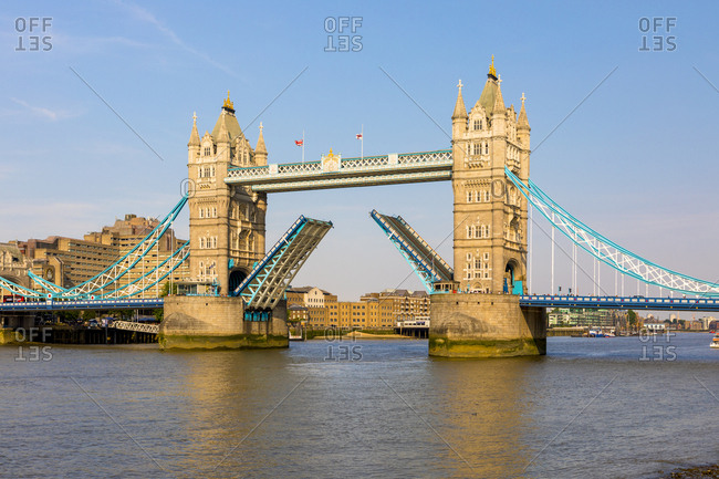 June 19, 2017: United Kingdom, England, London, City of London, Tower Bridge, Great Britain, British Isles,
