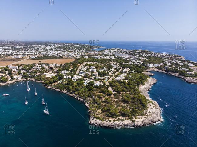 Spain- Balearic Islands- Mallorca- Region Cala d'Or- Coast of Porto Petro