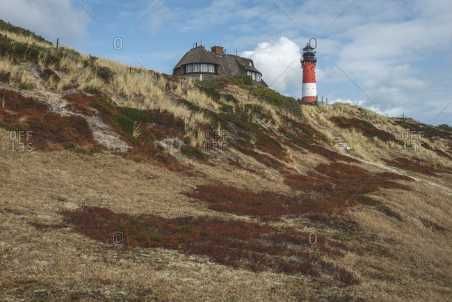 Germany- Schleswig-Holstein- Sylt- Hurnm- lighthouse
