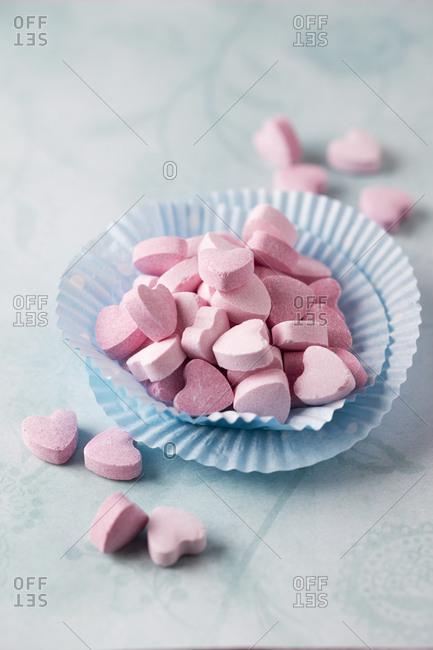 Sherbet Powder Hearts