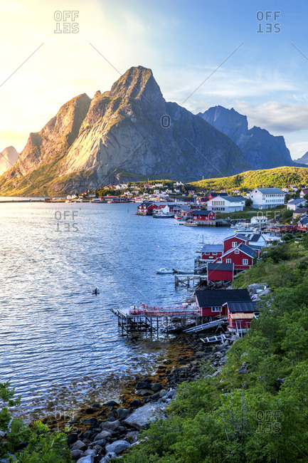 Norway- Lofoten Islands- Moskenesoy- Reine
