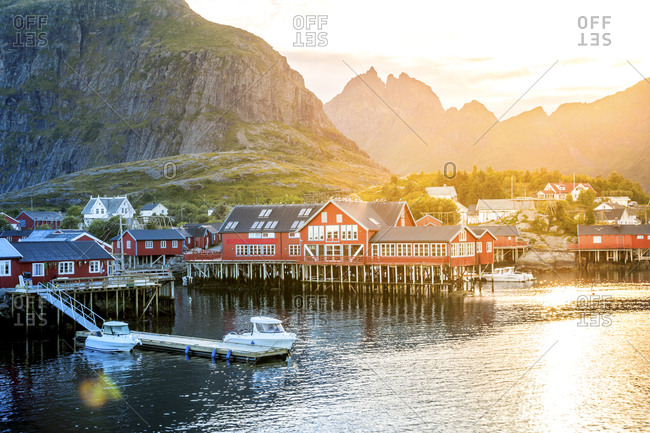 November 7, 2018: Norway- Lofoten Islands- Moskenesoy- open air museum