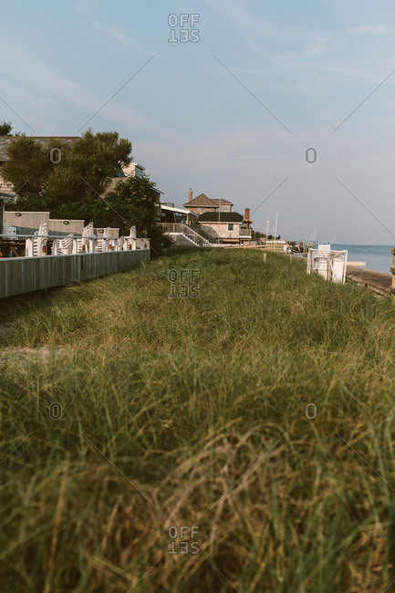 Long Island Beach town