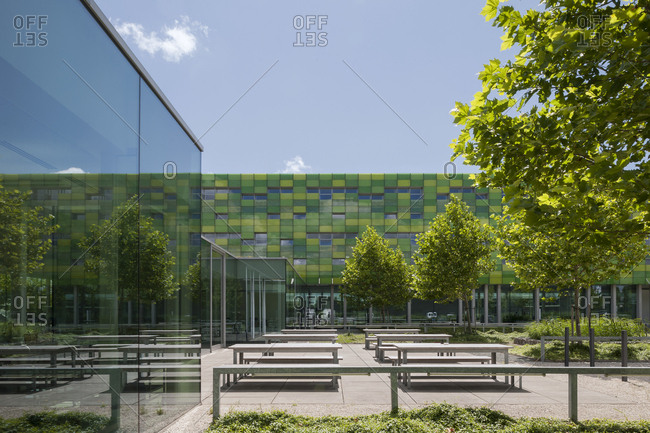 Torhout, Belgium - July 29, 2015: Office building in Torhout