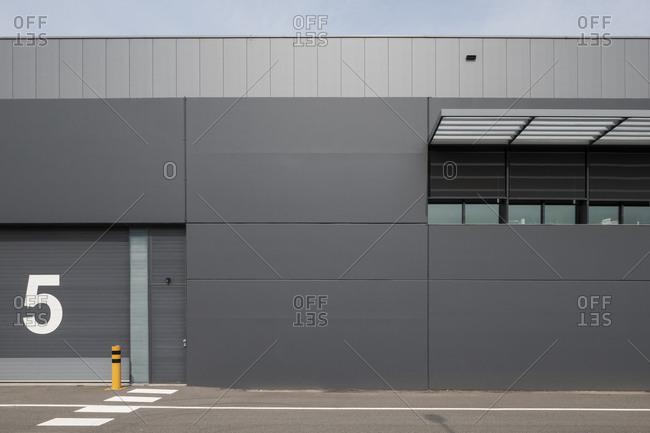 Industrial building in Temse, Belgium