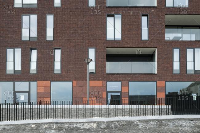 Apartment building in Boom, Belgium