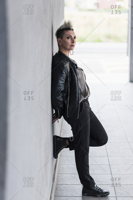 Leaning Against Wall Stock Photos Offset
