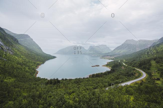 Norway- Senja island- coastal landscape