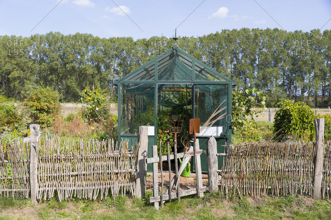 Germany- Mecklenburg-Western Pomerania- Parkentin- allotment garden