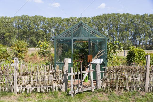 Germany- Mecklenburg-Western Pomerania- Parkentin- allotment garden