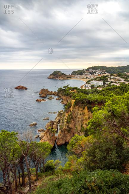 Spain- Catalonia- Costa Brava- Tossa de Mar