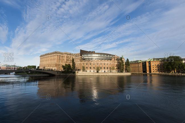 Sweden- Stockholm- Riksdaghuset