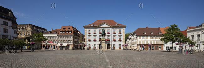 July 16, 2018: Germany- Rhineland-Palatinate- Landau- Townhall square- New townhall