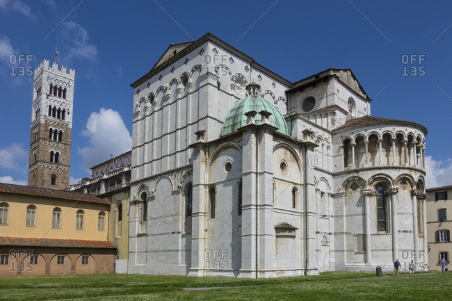 San Martino Cathedral, Lucca, Tuscany, Italy, Europe