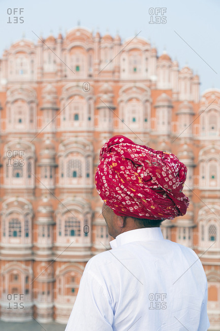 Hawa Mahal (Palace of the Winds), built in 1799, Jaipur, Rajasthan, India, Asia